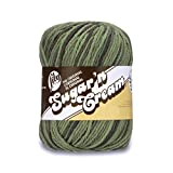 Lily Sugar'n Cream Super Size Ombres Yarn, 3 oz, Renegade, 1 Ball