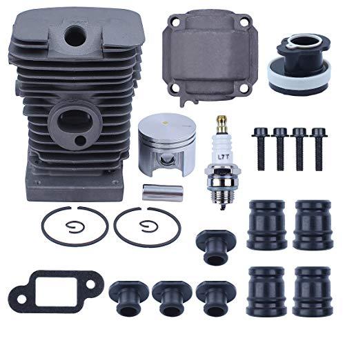 38 mm Zylinder Kolben Pan AV Puffer Cap Ansaugkrümmer Kit für Stihl MS180 018 MS 180 Kettensäge Gassägen Motor Ersatzteile