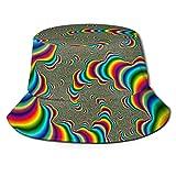 XCNGG Niños Niñas Gorra de Pescador Sombrero de Cubo Plegable Sombrero de Visera Sombrero de Playa