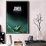 MONBAI Leinwand Malerei Poster Drucke Joker Poster Joaquin