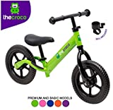 TheCroco Lightweight Balance Bike Premium for Toddlers and Kids...