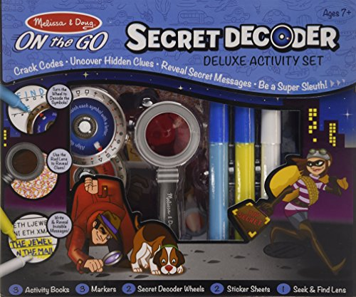 Melissa & Doug- Secret Decoder Deluxe Activity Kit (15238)