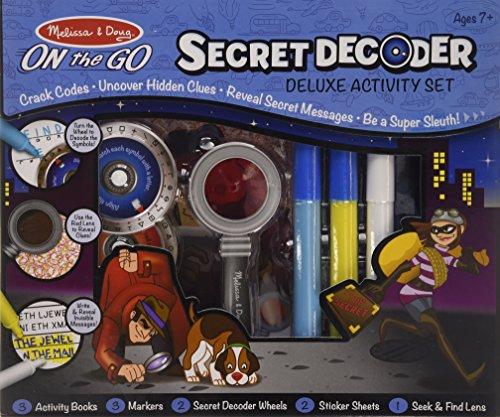 Melissa & Doug- Secret Decoder Deluxe Activity Kit (15238)