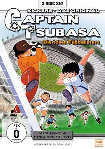 Die tollen Fußballstars, Vol. 4 - Episoden 96-128 (3 DVDs)