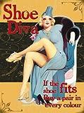 Original imán - Shoe Diva - Pin up - regalo decoración cocina nevera Imán 80131