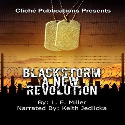 Blackstorm audiobook cover art