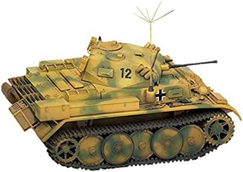 1 35 Germany II issue tanks L type Lux increase armor type no. 4 ArmGoldt Reconnaissance Battalion specifications with brass barrel parts with plastic 35-039