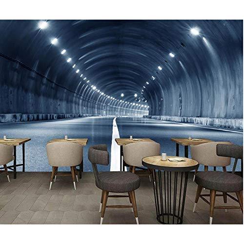 Hwhz Tapete der Wand 3d abziehbar Custom 3D Luxury Wallpaper Zeittunnelkanal 3D Wallpaper Wohnzimmer Dekor Hintergrund Pferd Tapetenwandbilder-120X100Cm