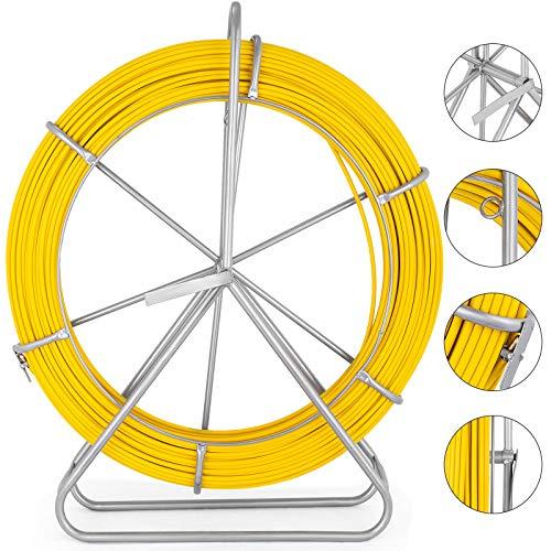 VEVOR Câble Fibre De Verre 8 MM câble Fils électriques, Kit de liaison pour câble électrique pour les télécommunications/les conduits électriques/les conduits muraux et de plancher/les conduits