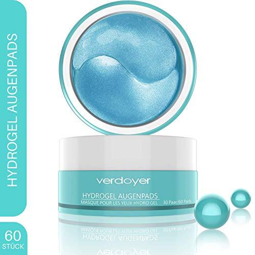 verdoyer - Premium Augenpads - Hyaluron & Kollagen Anti Aging Augenmaske gegen Augenringe, Tränensäcke & Augenfalten - Augen Gel Pads mit Soforteffekt - 30 Paar - Augenpflege