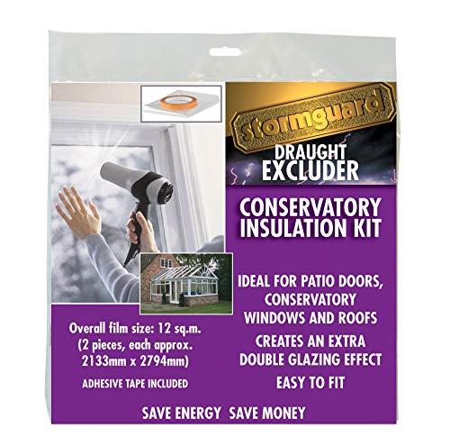 Thermo Cover Fensterisolierfolie ?Doppelschutzverglasung? (12 m²)