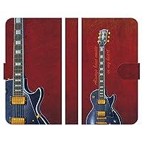 ブレインズ URBANO V02 KYV34 手帳型 ケース カバー レスポールギター いのもとまさひろ ギター エレキギター guitar