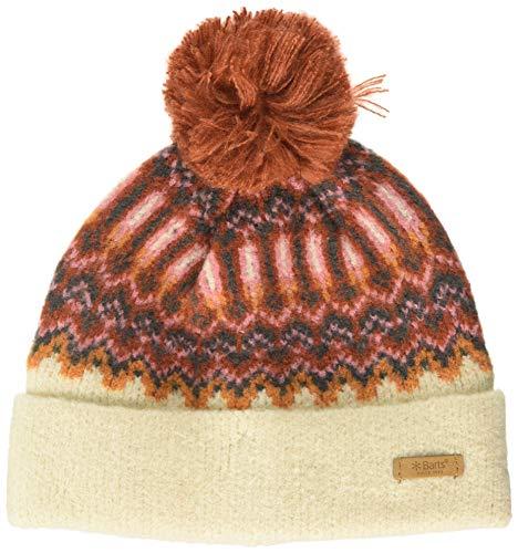 Barts Damen Drew Beanie Baskenmütze, Elfenbein (Cream 0010), One Size (Herstellergröße: Uni)