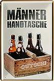 """Blechschilder Bier lustiger Spruch: """"MÄNNER"""