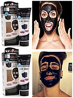 BeatStock,Anti-Blackhead CharCoal Peel Off Mask | Deep skin cleansing Mask 130 gram for face skin cleansing and care