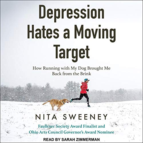 Depression Hates a Moving Target audiobook cover art