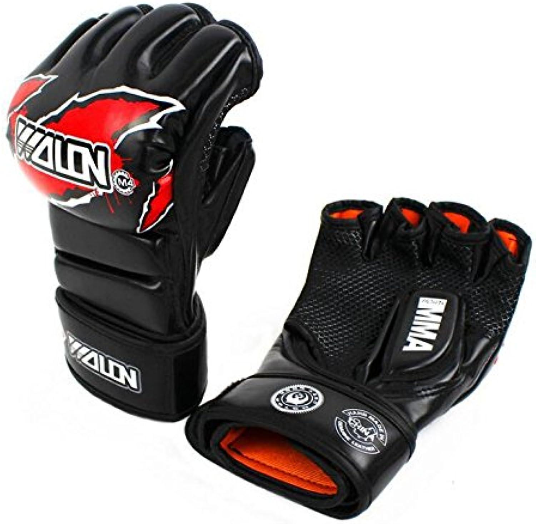 PLYY Boxhandschuhe Halbfinger Handschuhe Handschuhe Handschuhe Thai Boxkampf Fitness Training Handgelenk Schutz Sanda B07HY8P71V  Leidenschaftliches Leben b783df