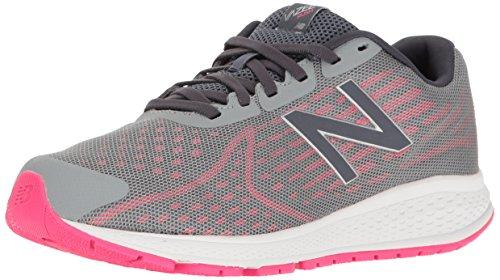New Balance New Balance Jungen Unisex-Kinder Vazee Rush v2 Sneakers, Grey Pink Zing, 28.5 EU