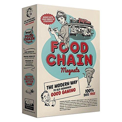 Food Chain Magnate - Splotter Spellen - Deutsch/Englisch