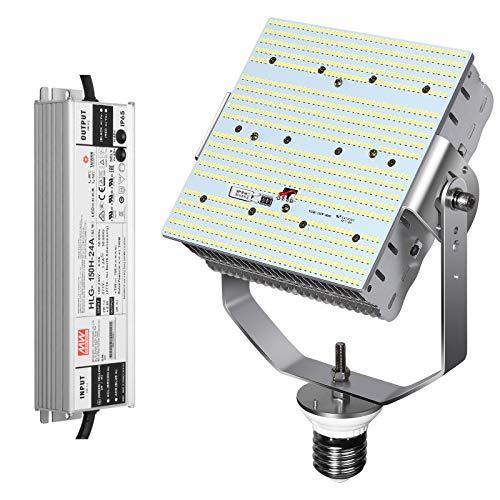 NGTlight Kit de Calzado LED de 240 W (1000 W de Repuesto de haluro de Metal), SMD3030 E39 Mogul Base de Tornillo 5700 K luz de día para estacionamiento Tennis Court Fixture
