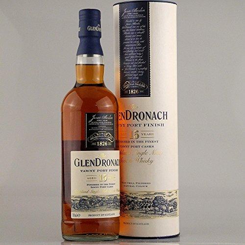 Glendronach 15 Years Old Tawny Port + GB 46% 0,7 l