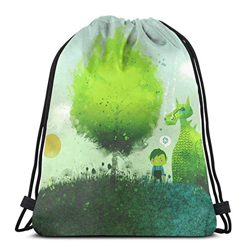 Drawstring Bag An Elf'S Best Friend Floor Pillow Training Gymsack