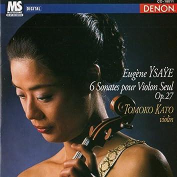 Eugene Ysaye: 6 Sonates Pour Violon Seul, Op. 27