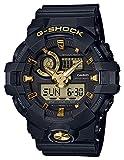 Casio G-Shock By Unisex Analog-Digital GA710B-1A9 Watch Black