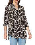 Vero Moda VMSIMPLY Easy 3/4 Tunic Top WVN GA Blusas, Avena, XS para Mujer
