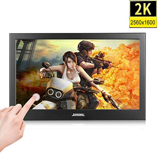 10,1 inch 2K Touch Screen Portable gaming-monitor pc IPS LCD display 13,3 inch kleine Mini HDMI Tablet Computer Monitor voor PS3 4,13.3 inch 1080p