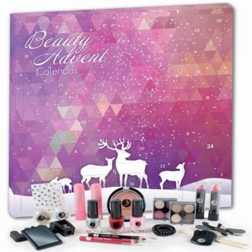 92 Christmas Beauty Book Vegan Adventskalender Advent of Beauty Surpris 24tlg