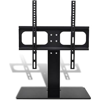 vidaXL Soporte de TV con Base Mueble para Pantalla LCD LED Monitor ...