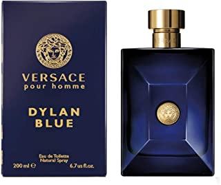 Versace Perfume - Pour Homme Dylan Blue by Versace - perfume for men -  Eau de Toilette, 200ml