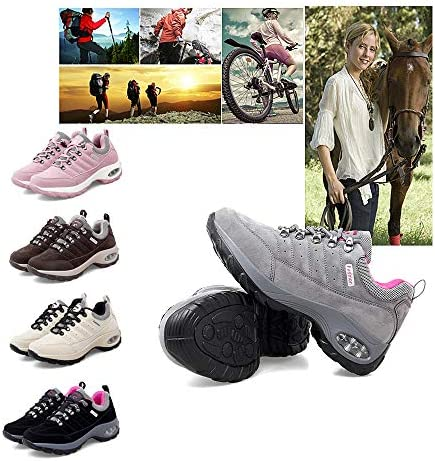 J&TOP Women Walking Running Shoes Lightweight Sneakers Breathable Knit Athletic Running Shoes Fashion Tennis Shoes