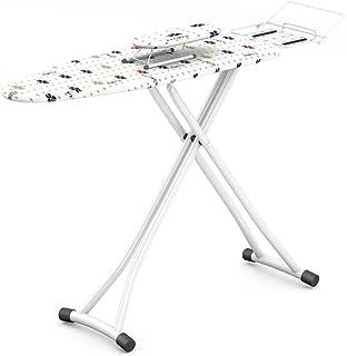 ZB-KK Balcon Table à Repasser, Chemise Serviettes Table à Repasser Couleur Couture Imprimer Dessus de Table, Acier, 110 * ...