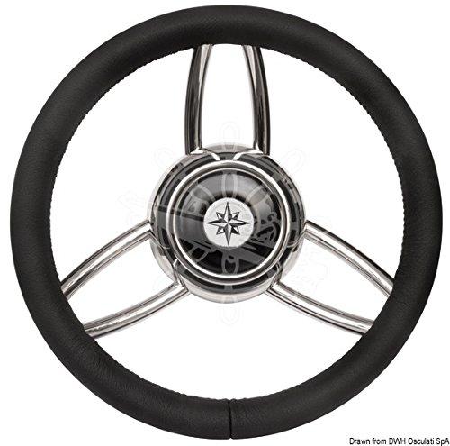 Osculati Volante Bliz Poliuretano morbido Nero (Blitz Steering Wheel w/Soft polyurethan