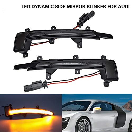 NSLUMO LED dinamico lampeggiante LED indicatore di direzione per A`udi 06-14 TT TTS 07-16 R8