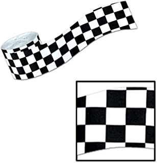 Checker Flag Crepe 30 ft by Century Novelty