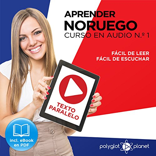 Aprender Noruego | Fácil de Leer | Fácil de Escuchar | Texto Paralelo Curso en Audio, No. 1 [Learn Norwegian - Easy Reading - Easy Audio - Parallel Text Audio Course, No. 1] audiobook cover art
