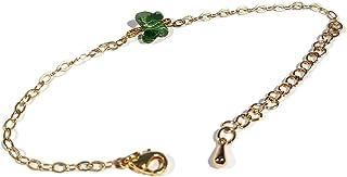 Bracciale FARFALLE oro regolabile verde Swarovski regali di Natale anniversario gioielli cerimonia di nozze ospiti matrimo...