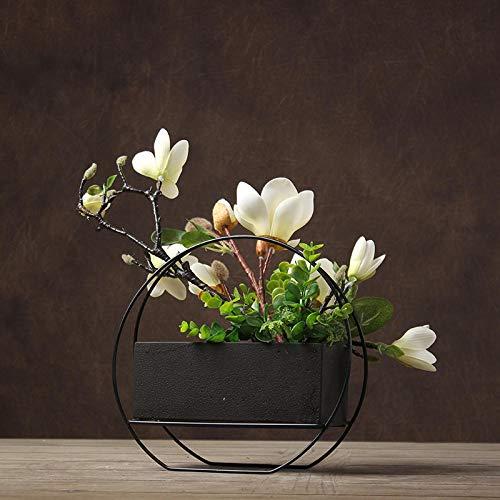 ZHIHUIflower Kreative Ornamente Künstliche Blumen Wohnzimmer Dekoration Blumengesteck, Weiß