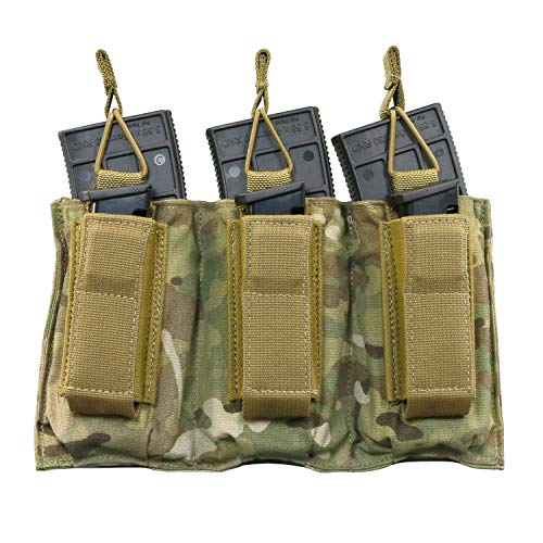 New Tactical Assault Gear TAG MOLLE Triple Shingle and Pistol Magazine Pouch for Military Law Enforc...