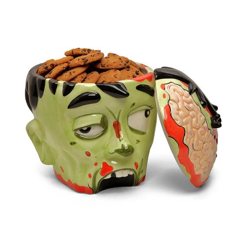 MIK Funshopping Keksdose aus Keramik Zombie Head