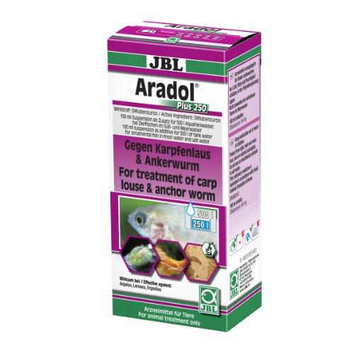 JBL Aradol 10073 Heilmittel gegen Karpfenläuse und Ankerwürme für Aquarienfische