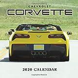 Chevrolet Corvette 2020 Calendar: Monthly Calendar with USA Holidays&Observances, Supercars Calendar, American Muscle Cars, Automobile Calendar