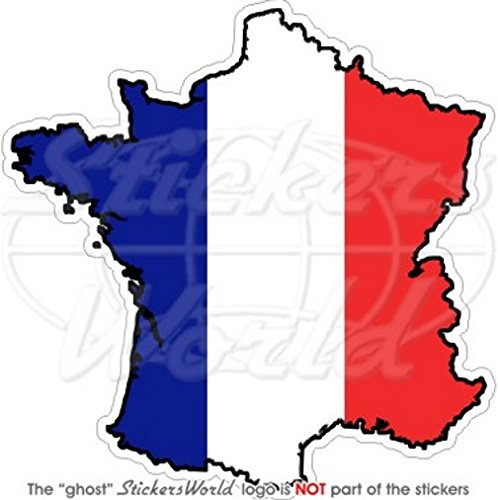 FRANKRIJK French Map-Flag 5.4