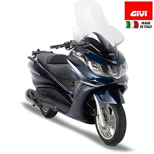 Tourenscheibe Givi Spoiler Moto Piaggio X10 125/350/ 500 12-13 klar