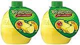 2 Squeeze Bottles Each Containing 2.5 Fl Oz of 100% Lemon Juice