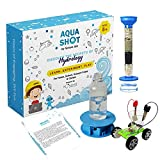 Aquashot Box - Set of 3 DIY Water Science Toys - Salt Water Powered Car, Water Tornado Maker, Water Purification System | STEM Learning, Easy to Assemble, A Great Science-Based Educational Activity