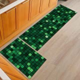 OPLJ Cocina Antideslizante alfombras de área Moderna Sala de...
